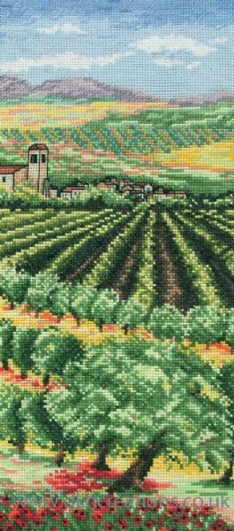 Italian Olive Groves Cross Stitch Kit